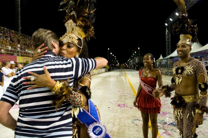 Cidadã samba da Coloninha (Lucas Sampaio/ND)